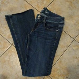 American Eagle artist boot cut jeans 8R